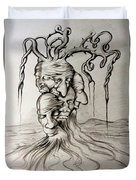 Tree Of Death Duvet Cover