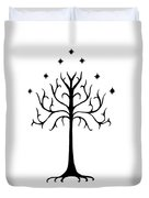 Tree Of Gondor Crest Duvet Cover