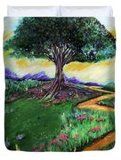 Tree Of Imagination Duvet Cover