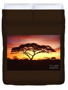 Tree Of Life Africa Duvet Cover