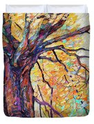 Tree Of Life And Wisdom   Duvet Cover