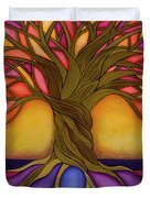Tree Of Life Duvet Cover by Carla Bank