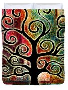 Tree Of Life Duvet Cover by Jaison Cianelli
