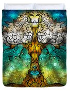 Tree Of Life Duvet Cover by Mandie Manzano