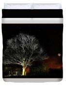 Tree Of Light Duvet Cover