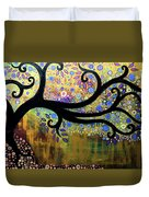 Tree On A Hill 5 Duvet Cover