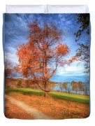 Tree On Fire Duvet Cover