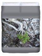 Tree On Rock Duvet Cover