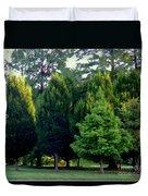 Tree Personalities Duvet Cover