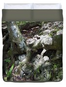 Tree Roots On The Bank Duvet Cover
