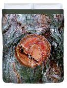 Tree Sap Duvet Cover