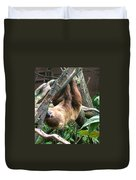 Tree Sloth Duvet Cover