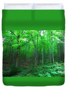 Tree Stand Duvet Cover