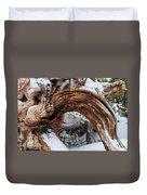 Tree Stump Arch Duvet Cover