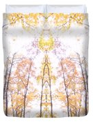 Tree Temple Duvet Cover