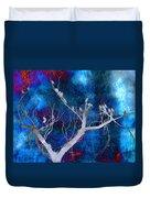 Tree Top Flock Duvet Cover