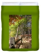 Tree Trail Duvet Cover