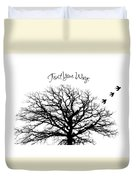 Tree-trust Your Wings Duvet Cover