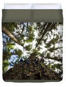 Tree Walkers Duvet Cover