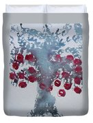 Tree With Balls Eight Duvet Cover