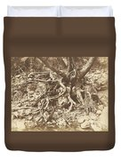 Tree With Tangle Of Roots Duvet Cover