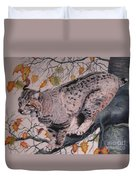 Treed Duvet Cover by John Huntsman