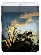 Treeline Silhouette Duvet Cover