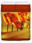 Treeport Duvet Cover