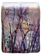 Trees Are Poems That The Earth Writes Upon The Sky Duvet Cover