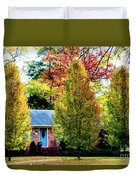 Trees Backlit By The Sun 0576t2 Duvet Cover