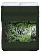 Trees Fallingwater  Duvet Cover