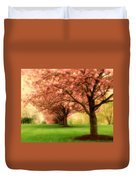 Trees In A Row Duvet Cover