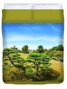 Trees In The City Duvet Cover