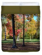 Tree's In The Forest 2 Duvet Cover