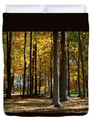 Tree's In The Forest Duvet Cover