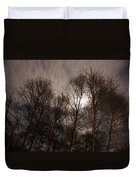 Trees In The Nigh Duvet Cover