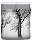 Trees In Winter  Duvet Cover
