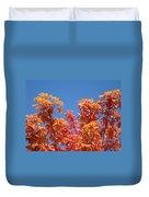 Trees Landscape Art Print Fall Tree Leaves Baslee Troutman Duvet Cover