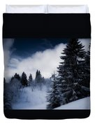 Trees Mountains And More Trees Duvet Cover