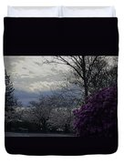 Trees Of Spring Duvet Cover