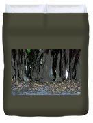 Trees Of The Banyan Duvet Cover