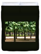Trees Of Tuilieres Duvet Cover