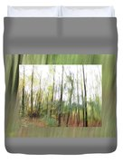 Trees On The Move Duvet Cover