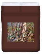 Trees With Knees Duvet Cover
