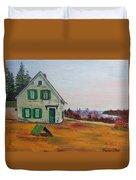 Trehaus Acadia Maine Duvet Cover