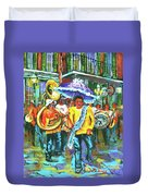 Treme Brass Band Duvet Cover