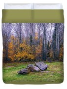 Trench Rocks Duvet Cover