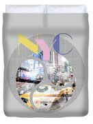 Trendy Design New York City Geometric Mix No 1 Duvet Cover