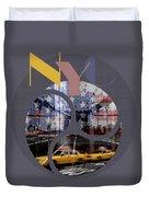 Trendy Design New York City Geometric Mix No 2 Duvet Cover