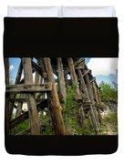 Trestle Timber Duvet Cover
